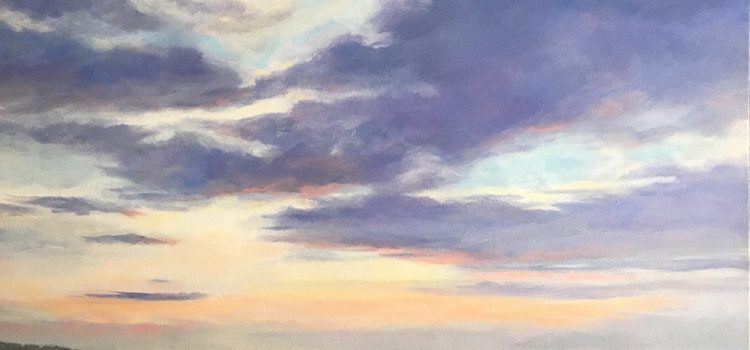 """Coastal Skies"" by Lisa Willits"