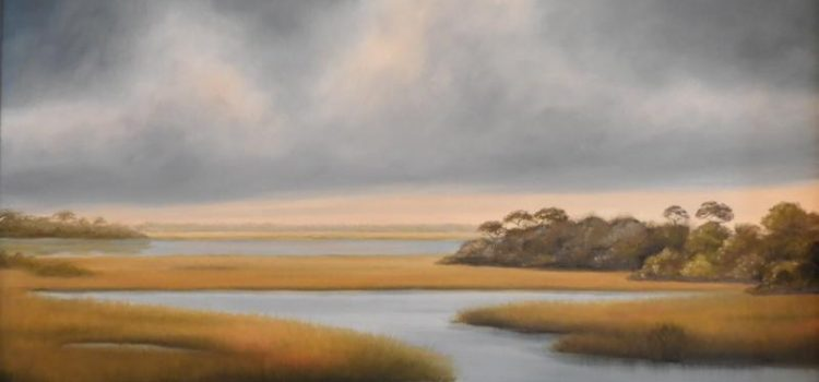 """TWO VIEWS"" featuring new paintings by  Joyce Harvey"