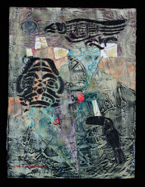 Lynne Hardwick, Amazon Memories, Mixed Media