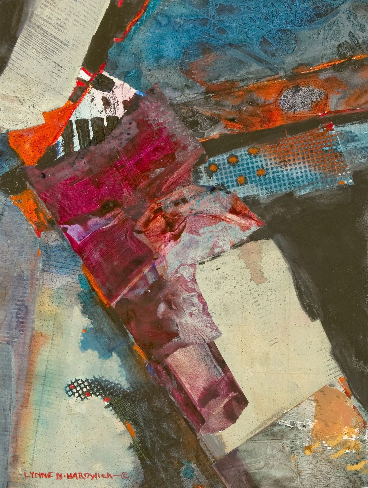 Lynne Hardwick, Mixed Media, Concinnity I