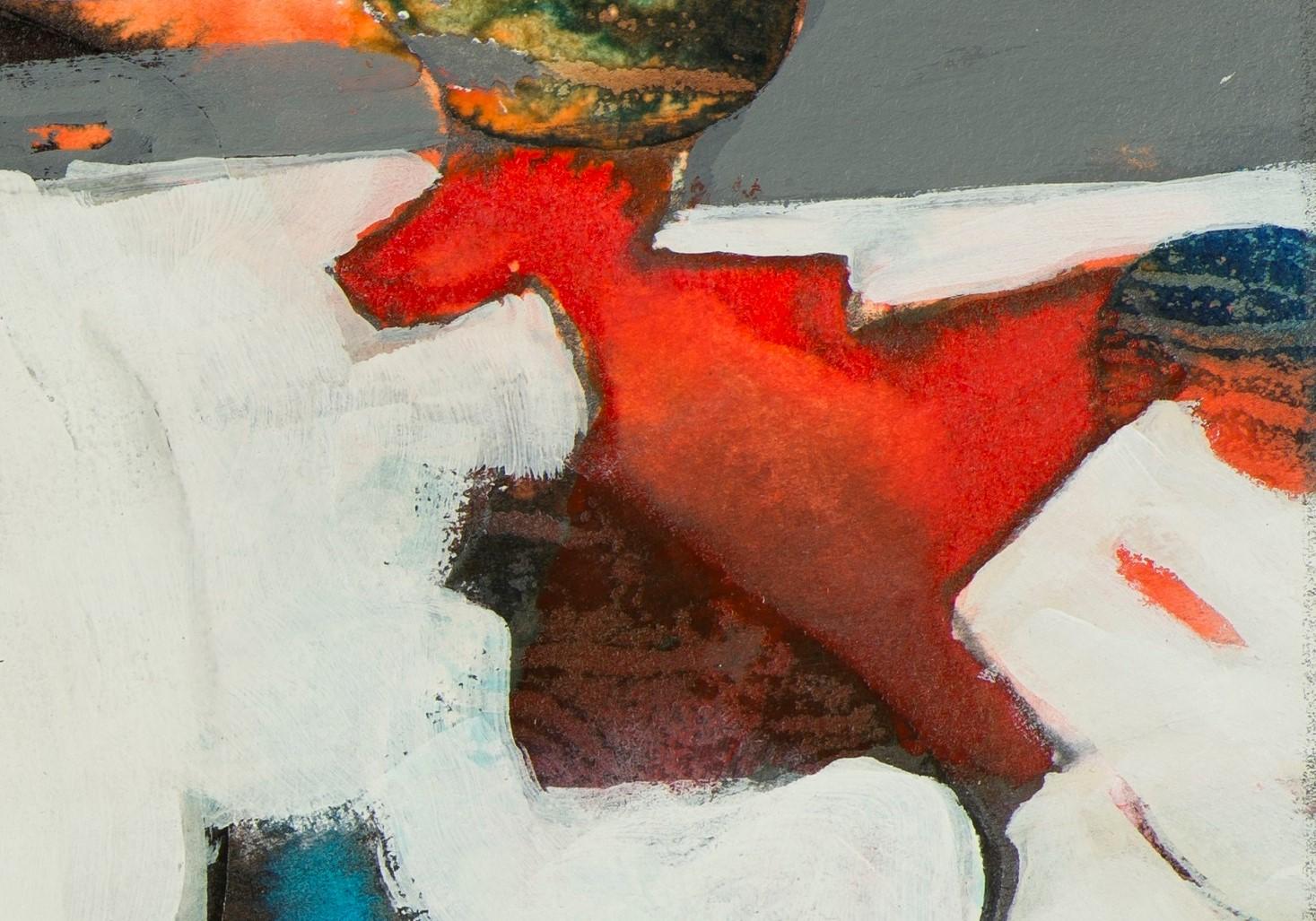 Lynne Hardwick, Nomad's Vision XV, Mixed Media, 24x27