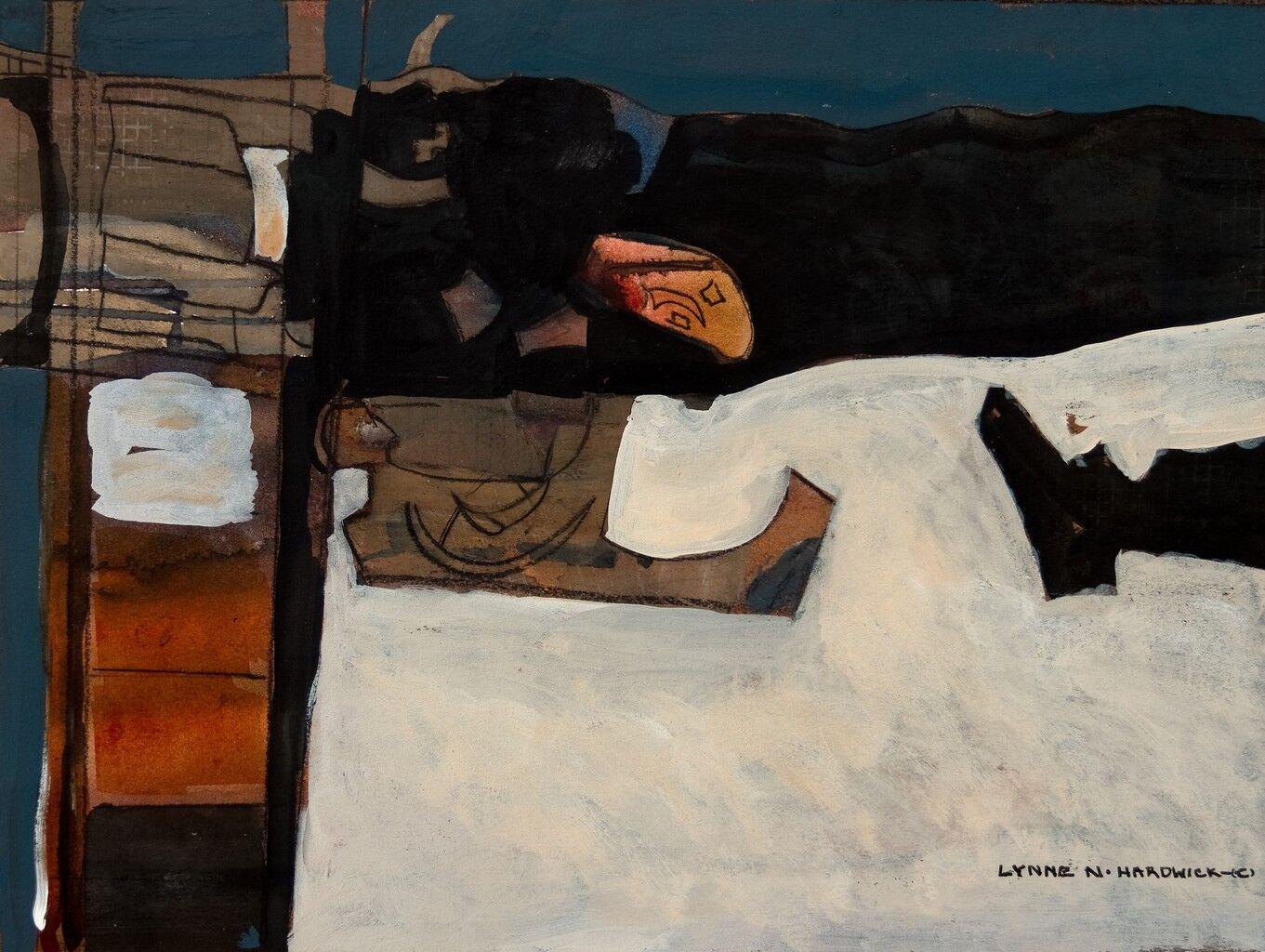Lynne Hardwick, Abstract Miixed Media, Tumulus X