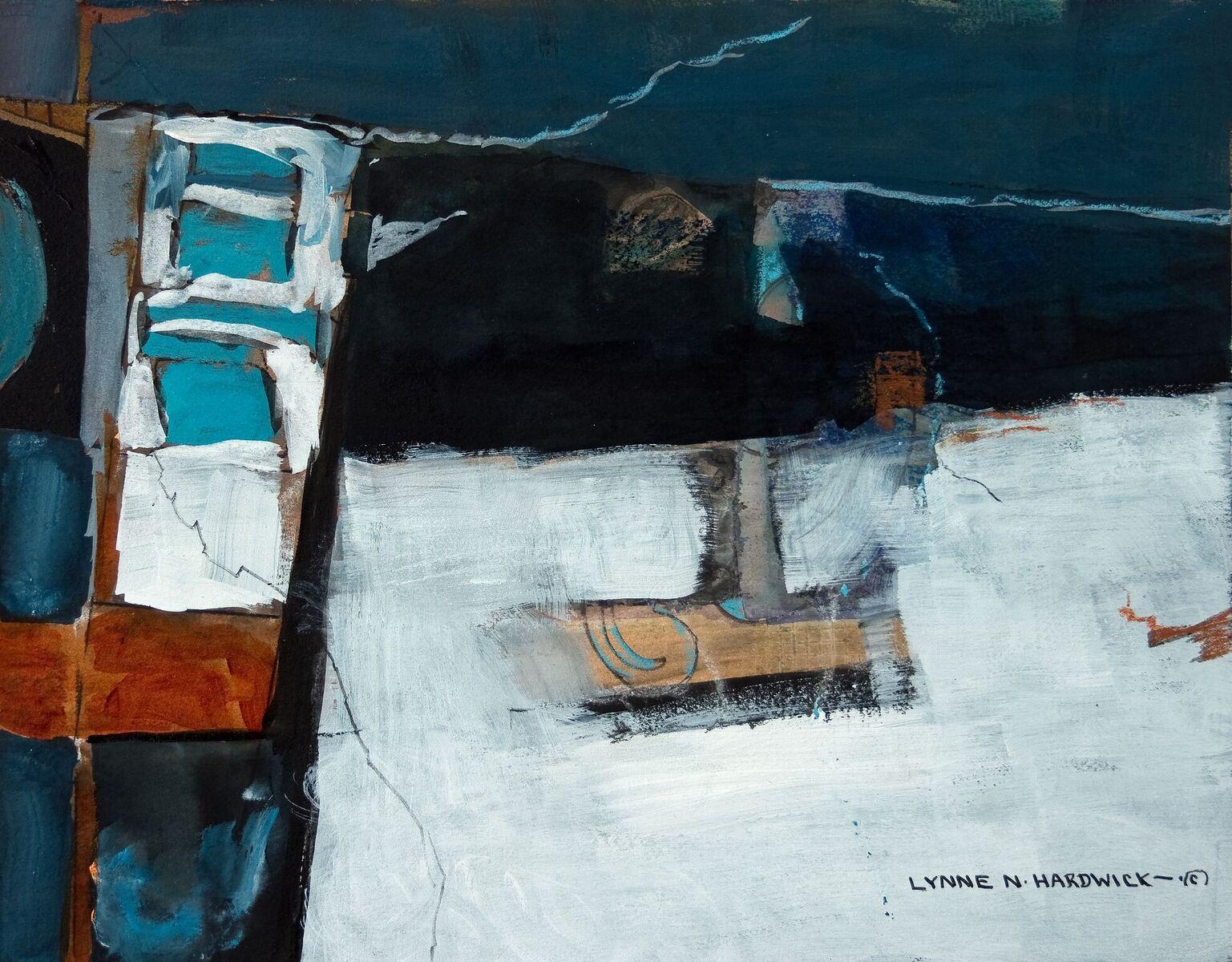 Lynne Hardwick, TumulusIX , Mixed Media, 24x27