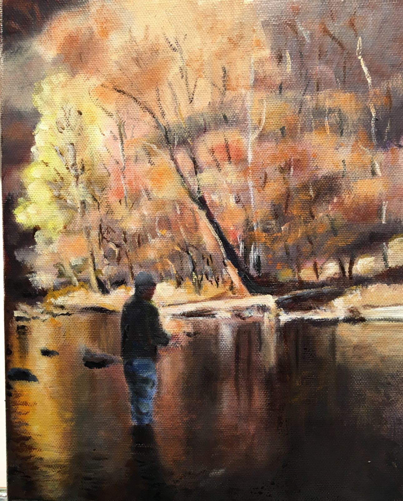 Tim Greaves, Fall Trout Fishing