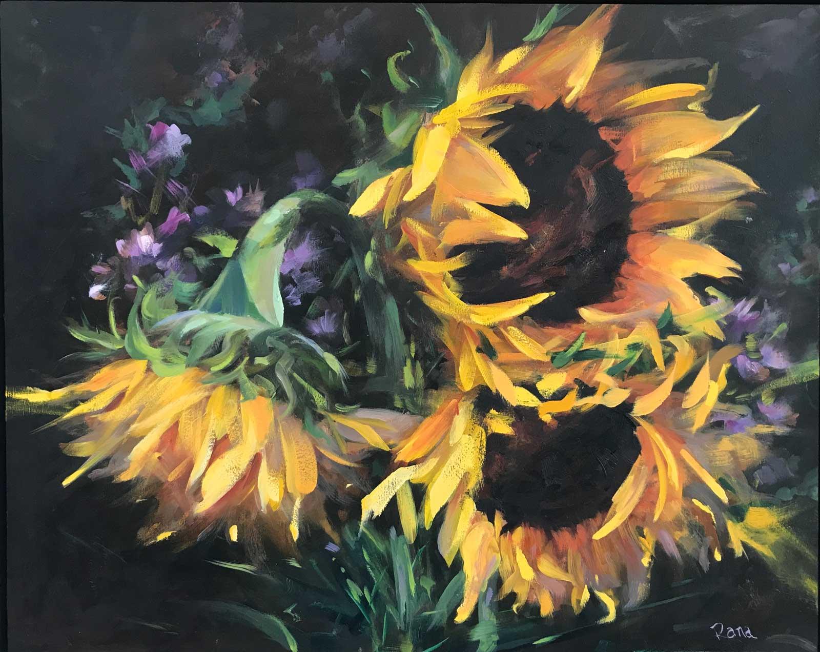 Rana Jordahl, Sunny Days, 12x16 Oil on board