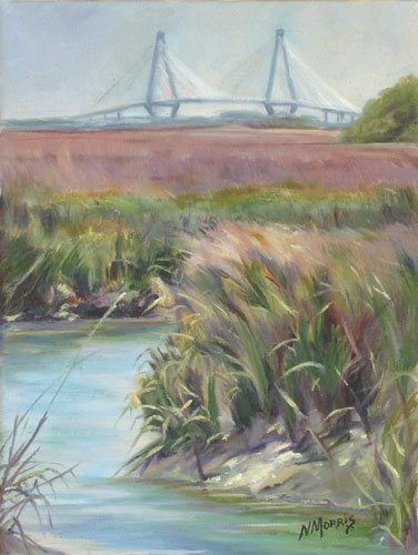 Norma Morris Cable, New Bridges, Oil