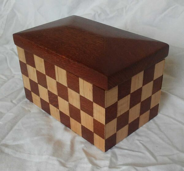 Pete Rock BOX#38 Lace wood and maple $95.00