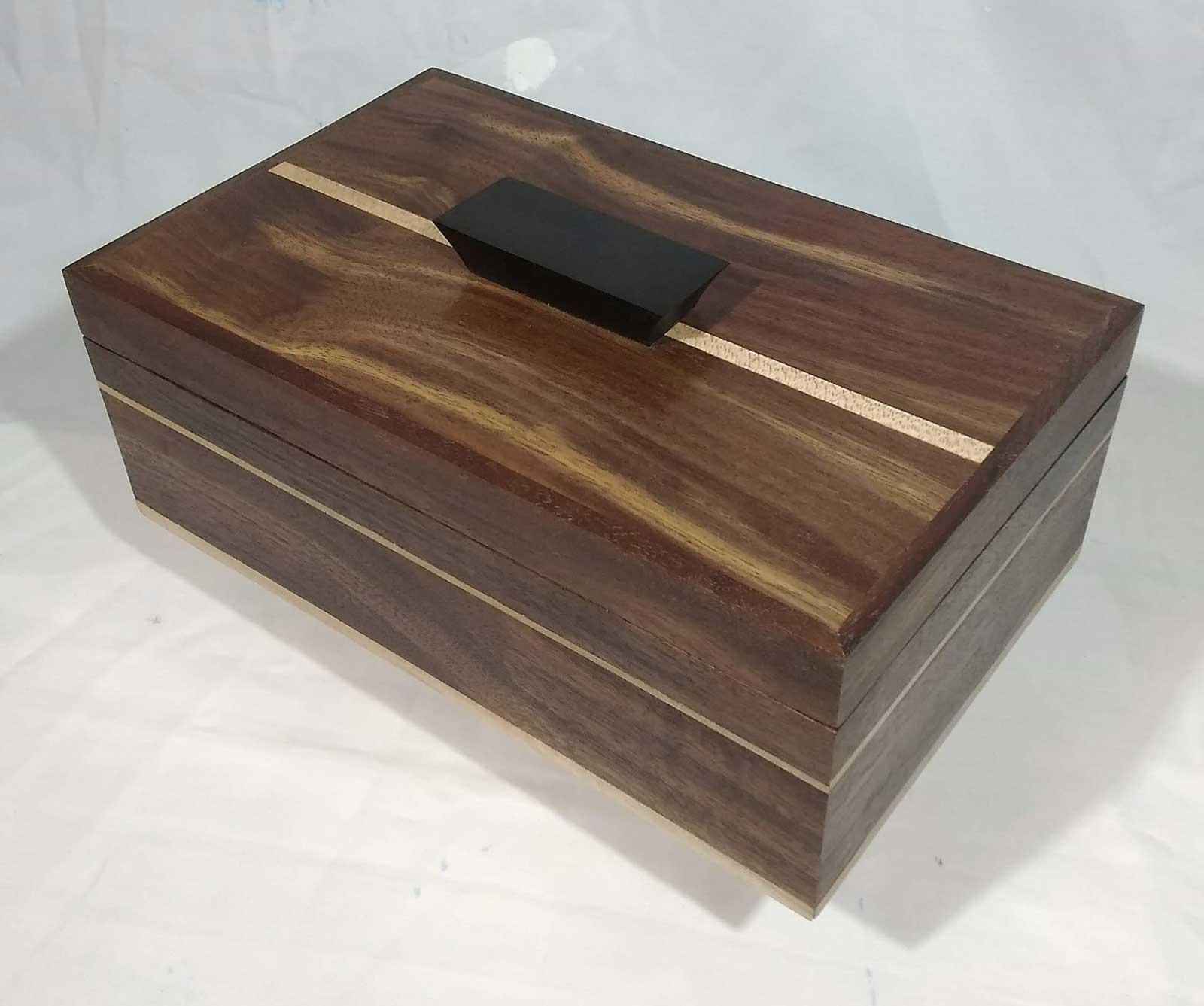 Pete Rock BOX#53 Black Walnut $200.00