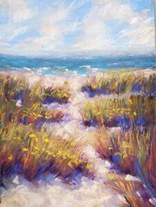 Fran Davies, Beach Path