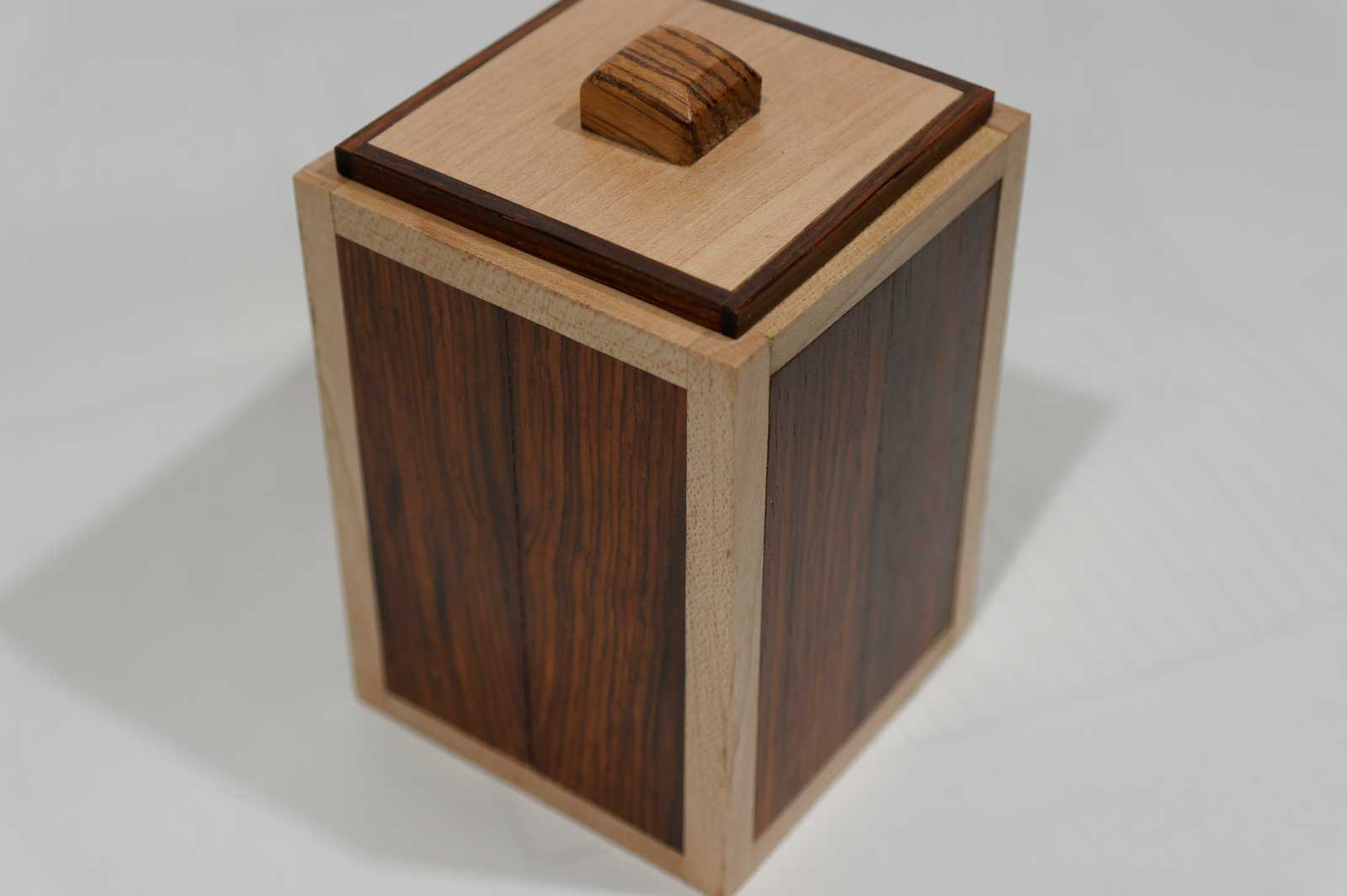 Pete Rock Box#8 rosewood and maple $ 75.00,
