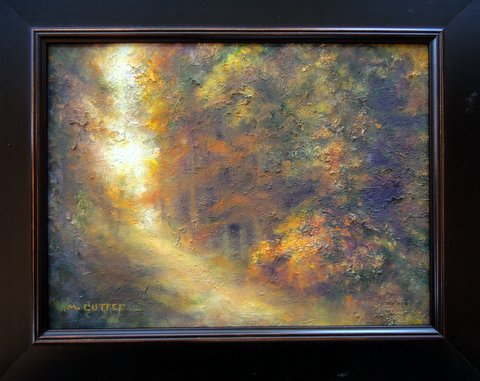 Margaret Cutter, Autumns ExtravaganceOil on panel 12x16 $1,000