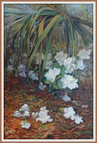 Margaret Cutter Spring Oil on canvas 36x24 $4200