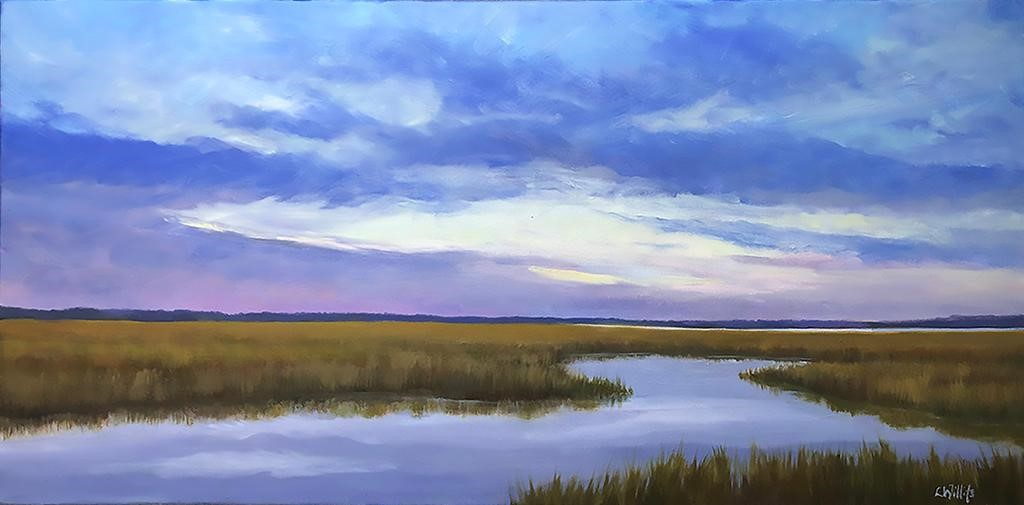 Lisa Willits Refuge 12x24 Oil on canvas $750