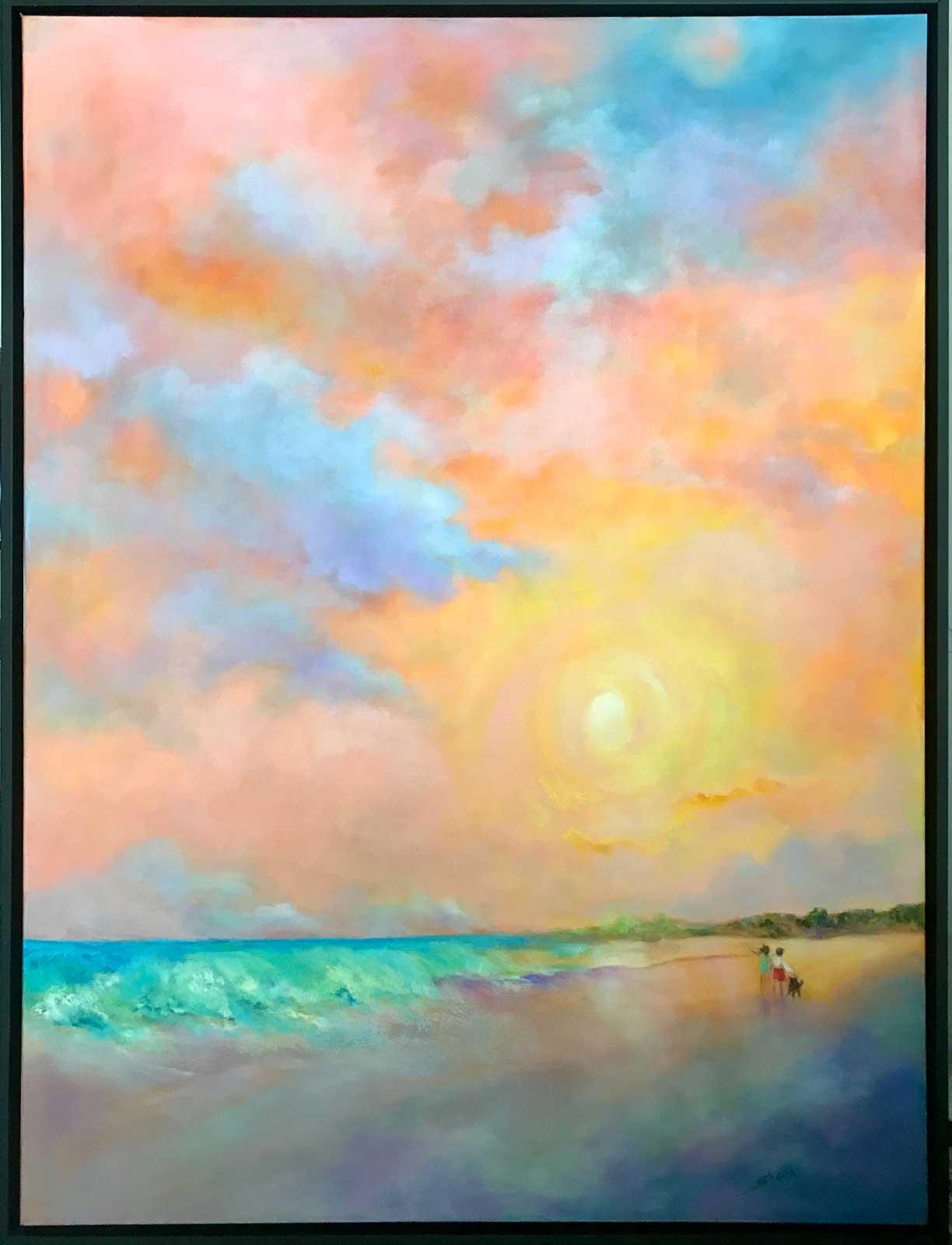 Shelia Thompson The Gift 30x40 Oil $2,900