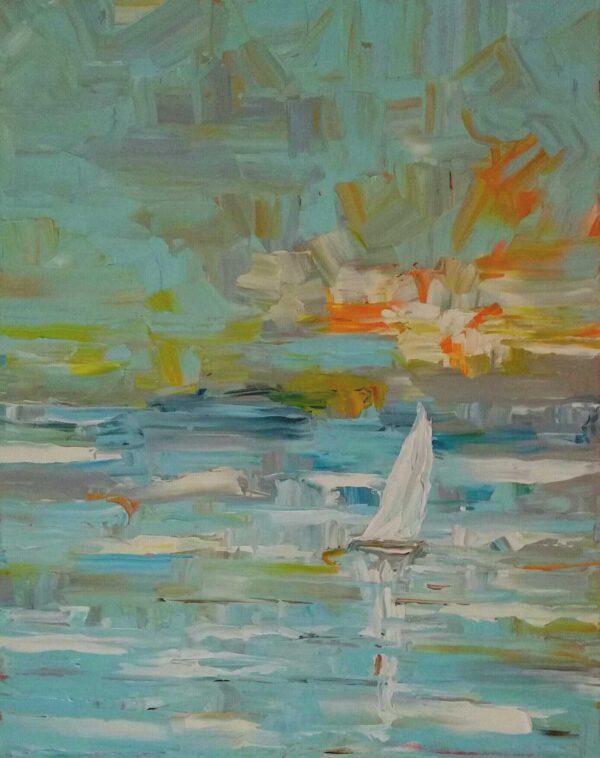 Tommy Beaver Seabrook Breeze Oil 18x24