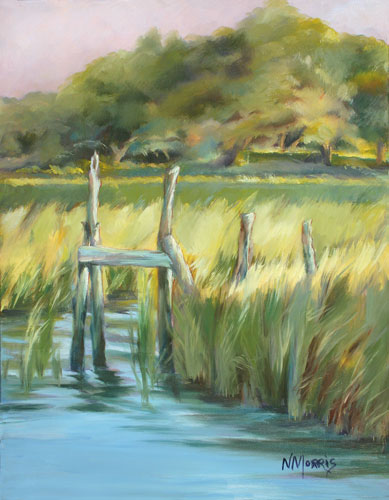 Norma Morris Cable Old-Timers-Dock Oil - [SOLD]