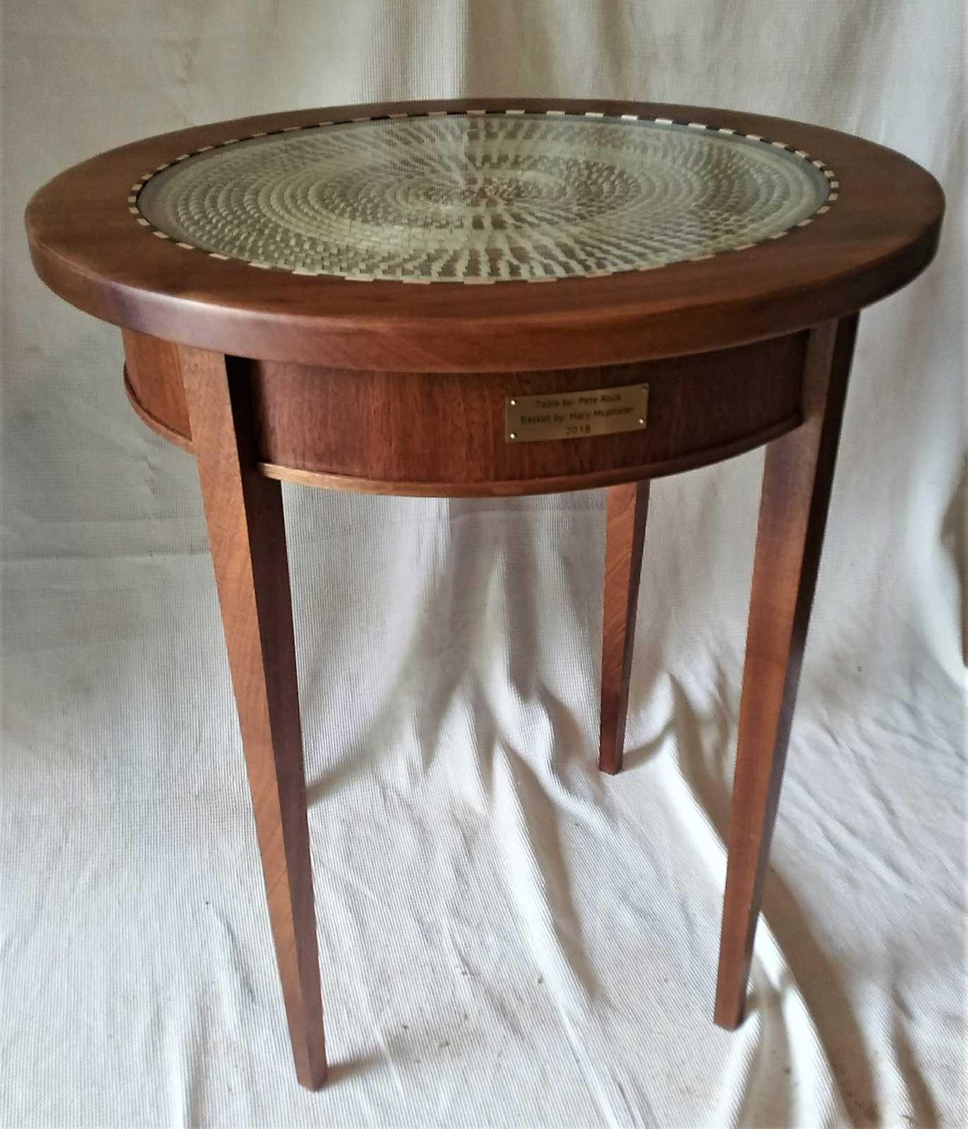 Pete Rpck Sweet Grass Table #28 $1,000