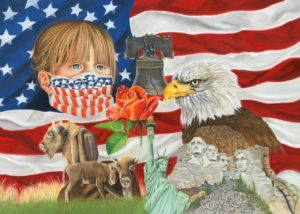 Jill Corless A Nation Of Hope 20x28 Pastel