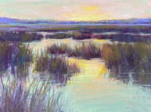 Kellie Jacobs Bright Horizon Pastel 9x12 $550