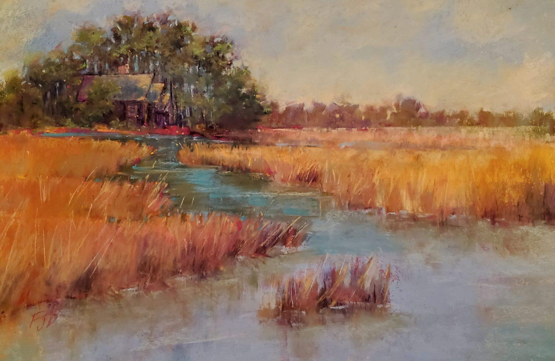Fran Davies, On Rathall Creek