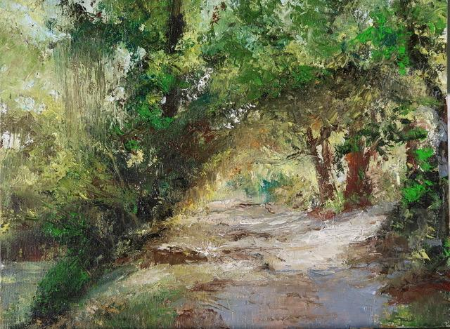 Margaret Cutter, Beckoning Southern Trail