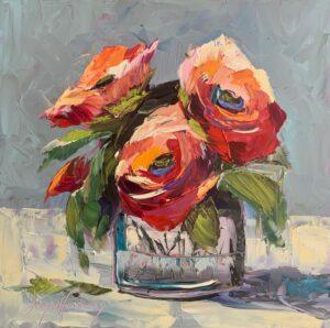 Joyce Harvey, Bloomin Reds