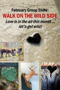 Walk on the wild side, featured show at Lowcountry Artist gallery