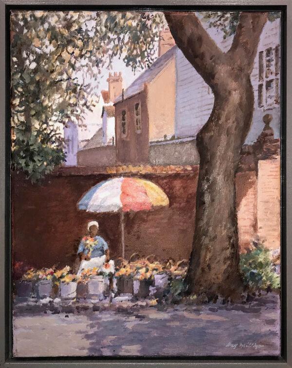 Guy Milligan, Charleston Flower Lady