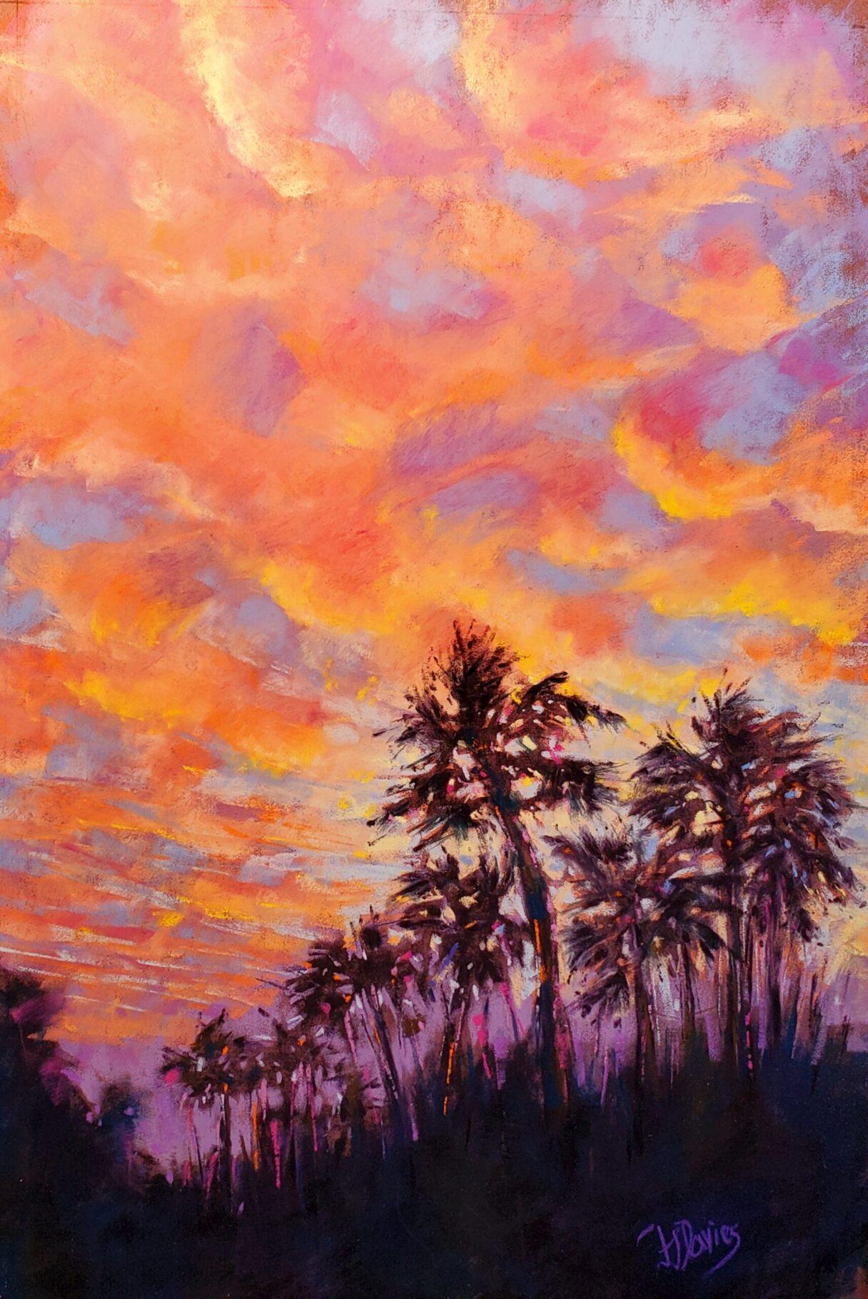 Fran Davies, Kiawah Sunset