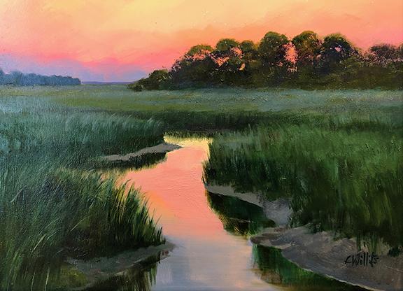 Lisa Willits, Just Past Sunset