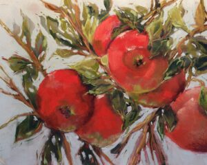 Fran Davies, apple-vicious