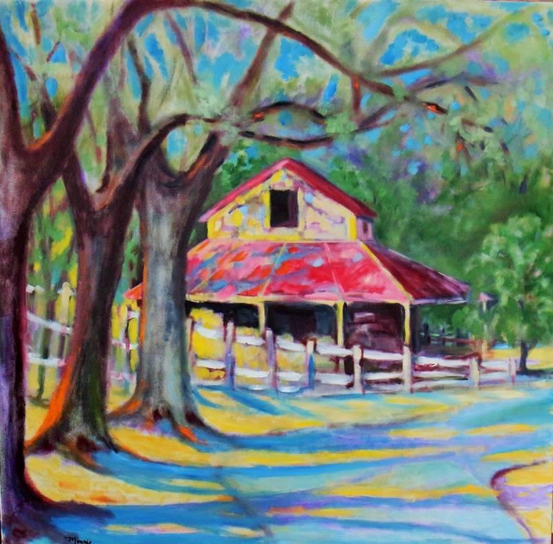 Monnie Johnson, Red Tin Roof Barn