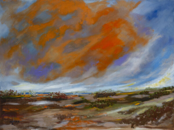 monnie johnson, orange sky