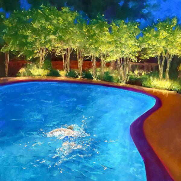 Fran Davies, Night Swim