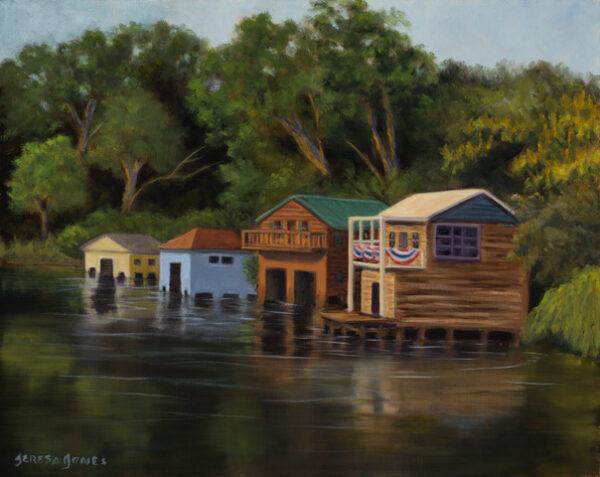 Teresa Jones, Boat Houses