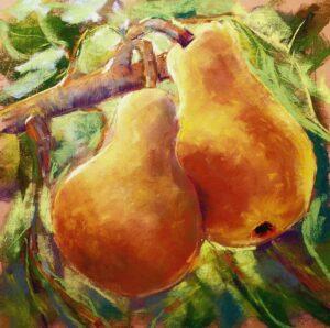 Fran Davies, A-Pear-ently-So